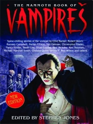 cover image of The Mammoth Book of Vampires