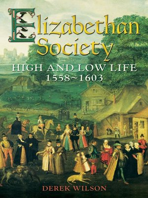 cover image of Elizabethan Society