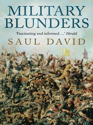 cover image of Military Blunders