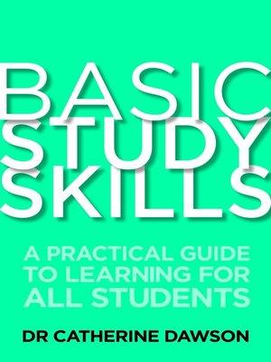 cover image of Basic Study Skills