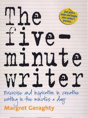 cover image of The Five-Minute Writer