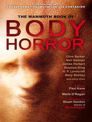 cover image of The Mammoth Book of Body Horror