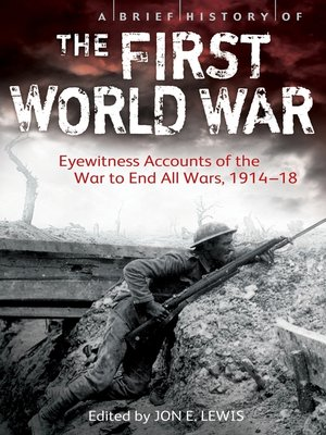 cover image of A Brief History of the First World War