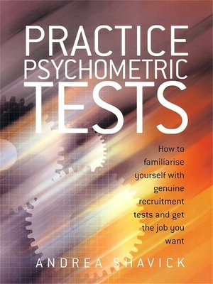 cover image of Practice Psychometric Tests