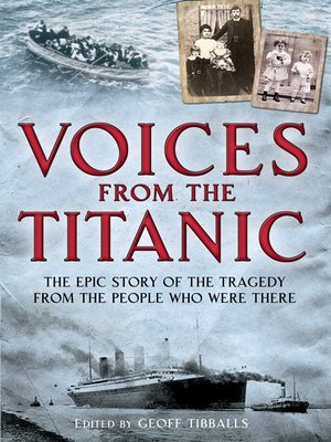 cover image of Voices from the Titanic