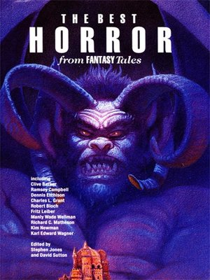 cover image of The Best Horror from Fantasy Tales