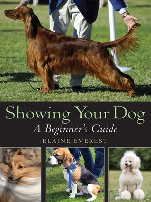 cover image of Showing Your Dog