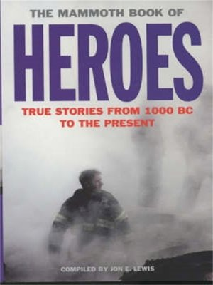 cover image of The Mammoth Book of Heroes