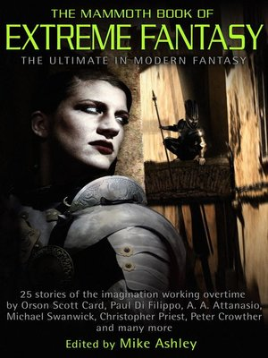 cover image of The Mammoth Book of Extreme Fantasy