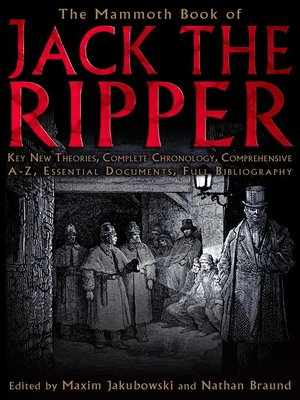 cover image of The Mammoth Book of Jack the Ripper