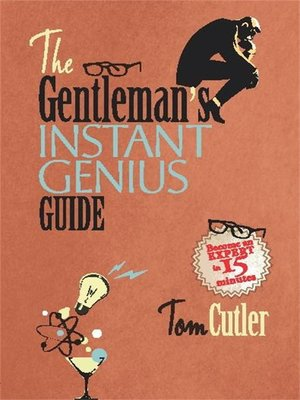 cover image of The Gentleman's Instant Genius Guide