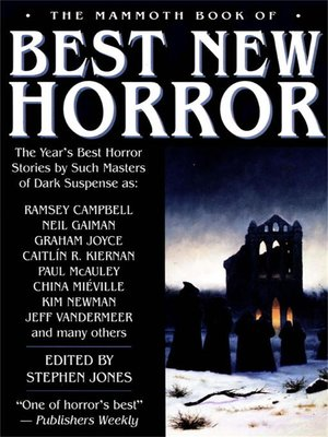 cover image of The Mammoth Book of Best New Horror 2003, Volume 14