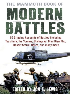 cover image of The Mammoth Book of Modern Battles