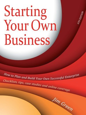 cover image of Starting Your Own Business