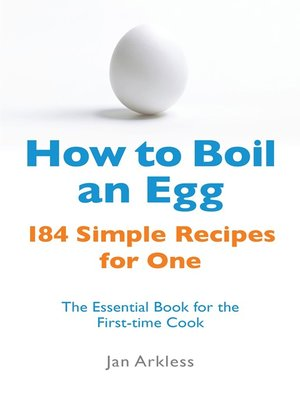 cover image of How to Boil an Egg