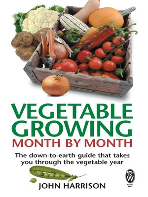 cover image of Vegetable Growing Month-by-Month