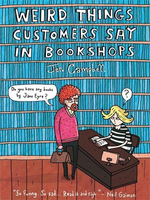 cover image of Weird Things Customers Say in Bookshops