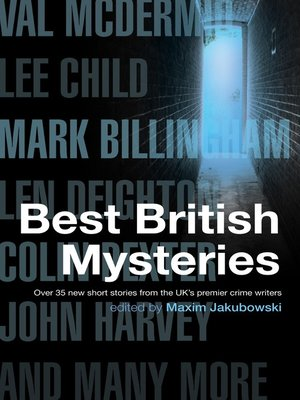 cover image of The Mammoth Book of Best British Mysteries