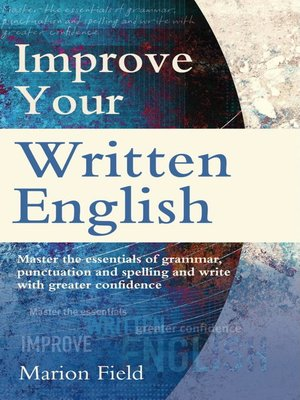 cover image of Improve Your Written English