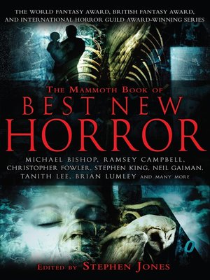 cover image of The Mammoth Book of Best New Horror 20