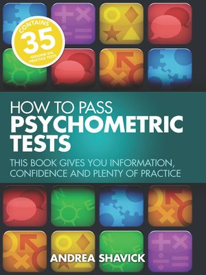 cover image of How to Pass Psychometric Tests