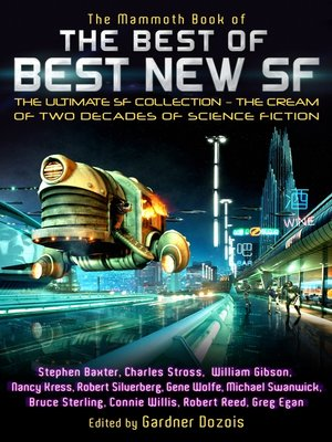 cover image of The Mammoth Book of the Best of Best New SF