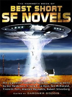 cover image of The Mammoth Book of the Best Short SF Novels