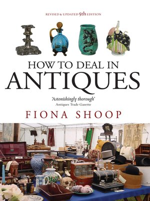 cover image of How to Deal in Antiques