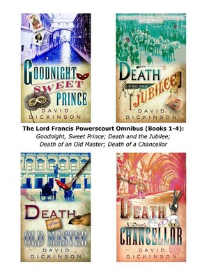 cover image of The Lord Francis Powerscourt Omnibus, Books 1 - 4