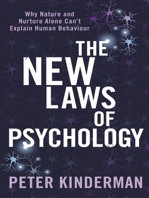 cover image of The New Laws of Psychology