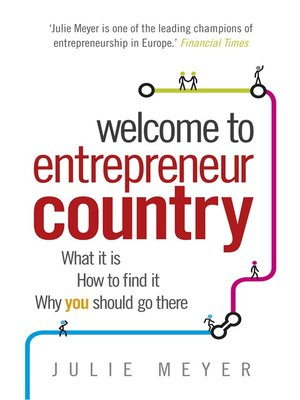 cover image of Welcome to Entrepreneur Country