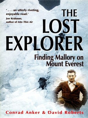 cover image of The Lost Explorer