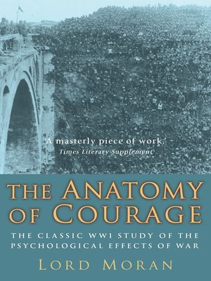 cover image of The Anatomy of Courage