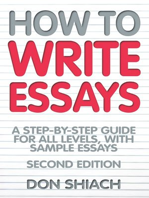 cover image of How to Write Essays