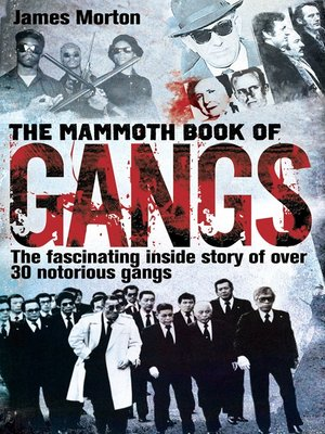 cover image of The Mammoth Book of Gangs