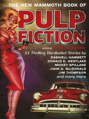 cover image of The New Mammoth Book of Pulp Fiction