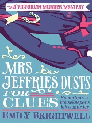 cover image of Mrs Jeffries Dusts For Clues