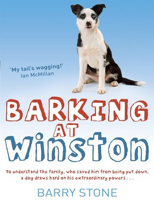 cover image of Barking at Winston