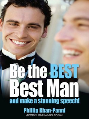 cover image of Be the Best, Best Man & Make a Stunning Speech!