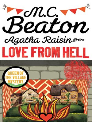 cover image of Agatha Raisin and the Love from Hell