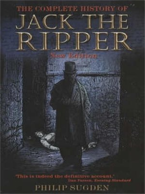 cover image of Complete History of Jack the Ripper