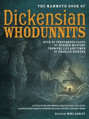 cover image of The Mammoth Book of Dickensian Whodunnits