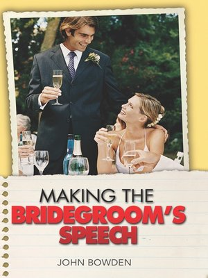 cover image of Making the Bridegroom's Speech