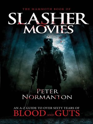 cover image of The Mammoth Book of Slasher Movies