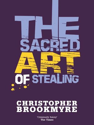 cover image of The Sacred Art of Stealing