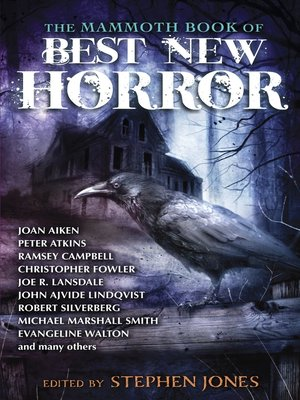 cover image of The Mammoth Book of Best New Horror 23