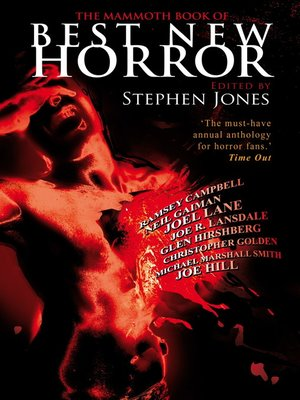 cover image of The Mammoth Book of Best New Horror 19