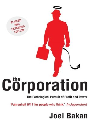 cover image of The Corporation