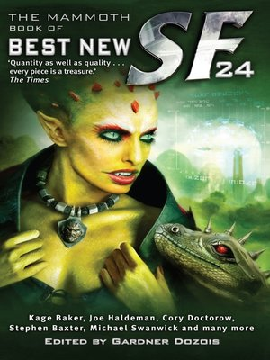 cover image of The Mammoth Book of Best New SF 24