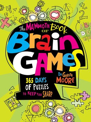 cover image of The Mammoth Book of Brain Games